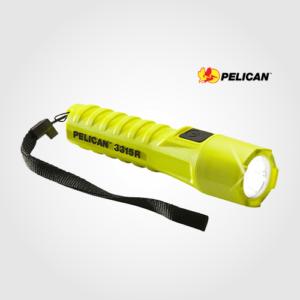Flashlight : Pelican 3315R Medium Light
